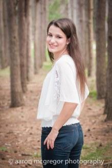 Senior Portrait at Twin Lakes